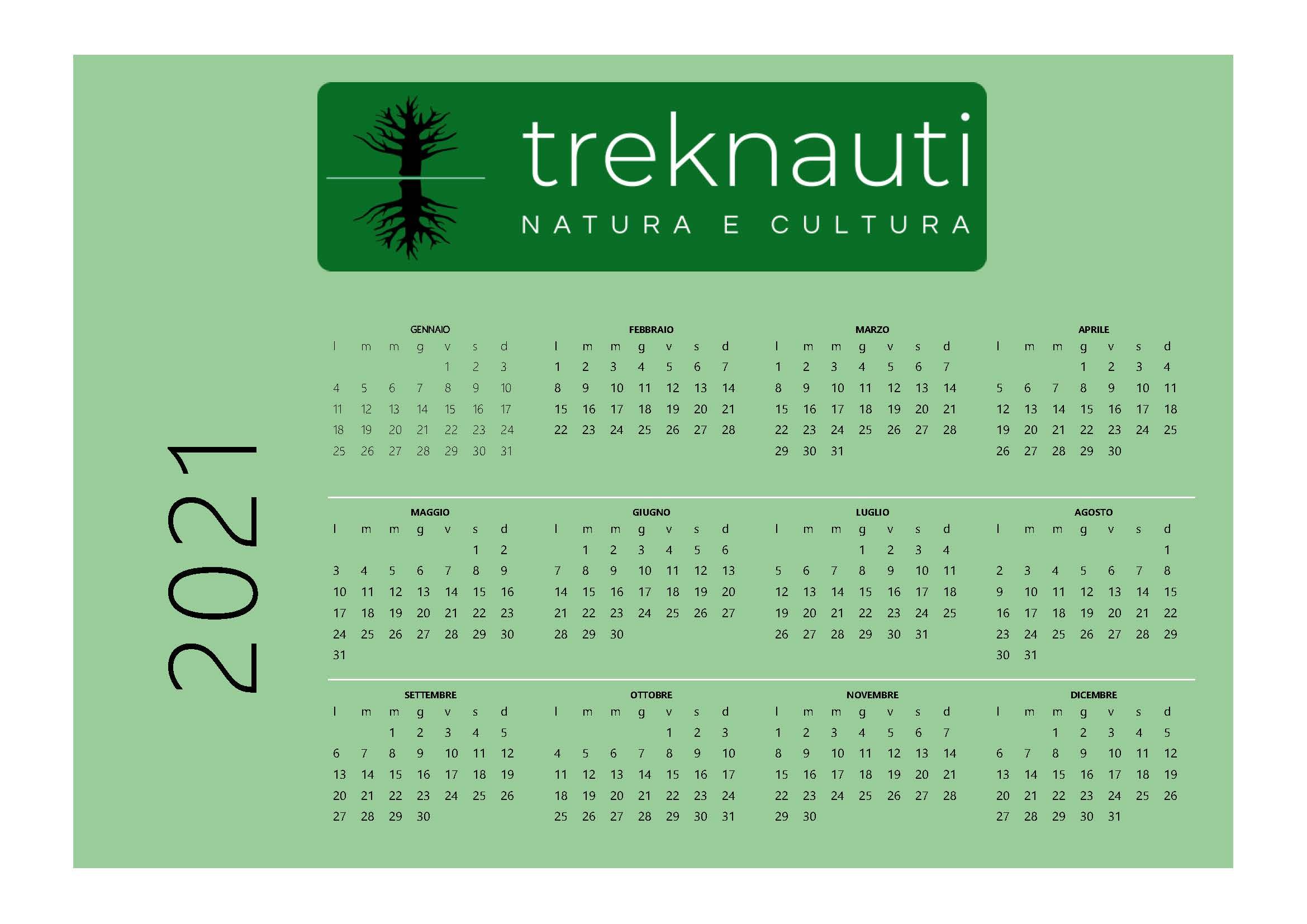 Calendario Treknauti